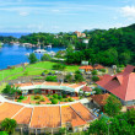 Beautiful view of Saint Lucia, Caribbean Islands — Stock Photo #17354791