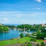 Beautiful view of Saint Lucia, Caribbean Islands — Stock Photo