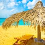 Beautiful beach in Saint Lucia, Caribbean Islands — Stock Photo #18946061