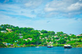 Beautiful view of Saint Lucia, Caribbean Islands — Stock Photo