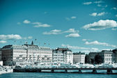 A view of Stockholm City Centre — Stock Photo