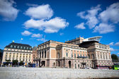 A view of Royal Swedish Opera House in Stockholm in Sweden — Stock Photo