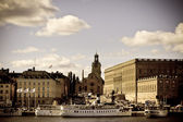 A view of Stockholm old city, Sweden — Stock Photo