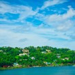 Beautiful view of Saint Lucia, Caribbean Islands — Stock Photo #23865209