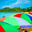 Beautiful beach in Saint Lucia, Caribbean Islands — Stock Photo #23865401