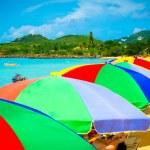 Beautiful beach in Saint Lucia, Caribbean Islands — Stock Photo