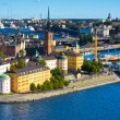Stock Photo: View of Stockholm old city, Sweden