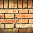 Background made from old brick wall — Stock Photo