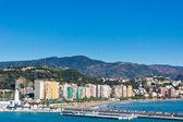 西班牙马拉加市美丽的看法 — 图库照片