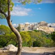 Beautiful view of ancient Acropolis, Athens, Greece — Stock Photo #32540127