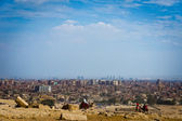City overview of Giza, Egypt — Stock Photo