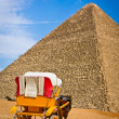 Pyramid of Khafre in Giza, Egypt — Stock Photo #34170079