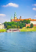 Beautiful medieval Wawel Castle, Cracow, Poland — Stock Photo