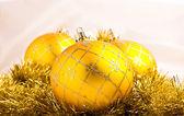 Bella decorazione di palline natale colorato — Foto Stock