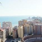 Beautiful panorama view of Malaga city, Spain — Stock Photo #35731263