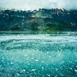 Glacier Bay in Mountains in Alaska, United States — Stock Photo #40030283