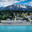 Beautiful view of Haines city near Glacier Bay, Alaska, USA — Stock Photo #40101071