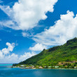Stock Photo: Paradise view of MooreIslands, Cook's Bay, French Polynesia