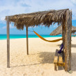 Stock Photo: Beautiful beach in Aruba, CaribbeIslands, Lesser Antilles