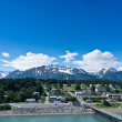 Beautiful view of Haines city near Glacier Bay, Alaska, USA — Stock Photo #45338315