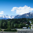 Beautiful view of Haines city near Glacier Bay, Alaska, USA — Stok fotoğraf