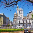 Beautiful view of Buenos Aires capital of Argentina — Stock Photo #45718333