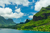 Paradise view of Moorea Islands, Cook's Bay, French Polynesia — Stockfoto