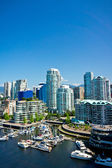 Beautiful view of Vancouver, British Columbia, Canada — Stockfoto