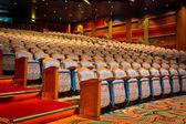 Beautiful view of elegant traditional theatre hall — Stockfoto