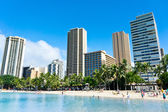 Beautiful view of Honolulu, Hawaii, United States — Stock Photo
