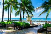 Prachtig uitzicht op honolulu, Hawaï, Verenigde Staten — Stockfoto