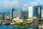 Beautiful view of Honolulu, Hawaii, United States — Stock Photo