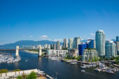 Beautiful view of Vancouver, British Columbia, Canada — Стоковое фото