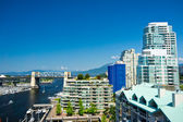 Beautiful view of Vancouver, British Columbia, Canada — Stok fotoğraf