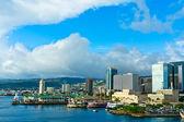 Hermosa vista de honolulu, hawaii, estados unidos — Foto de Stock