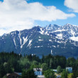 Beautiful view of Haines city near Glacier Bay, Alaska, USA — Stock Photo