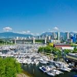 Beautiful view of Vancouver, British Columbia, Canada — Stock Photo #51674813