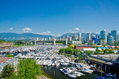Beautiful view of Vancouver, British Columbia, Canada — Stock Photo