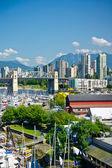 Beautiful view of Vancouver, British Columbia, Canada — Stockfoto