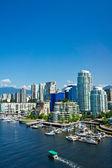 Beautiful view of Vancouver, British Columbia, Canada — Stock Photo