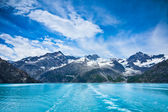 Glacier Bay in Mountains in Alaska, United States — Stock Photo