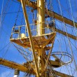 Stock Photo: Masts of sailing vessel