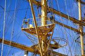 Mástiles de velero — Foto de Stock