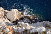 The coast of adriatic sea — Foto de Stock