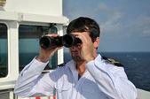 Navigator on the watch — Stock Photo