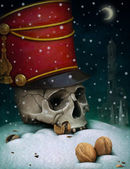 Illustration to fairy tale The Nutcracker — Stock Photo
