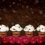 Four cakes — Stock Photo
