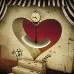 Heart and pendulum — Stock Photo #51321903