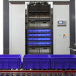 Horizontal storage carousel - Stock Photo