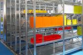 Warehouse shelving — Stock Photo